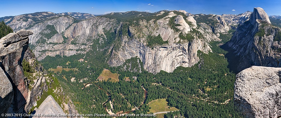 The Breadth and Depth of Yosemite Valley
